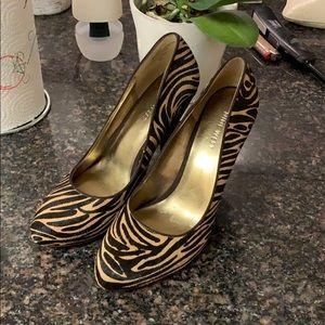 Nine West Cheetah Heels